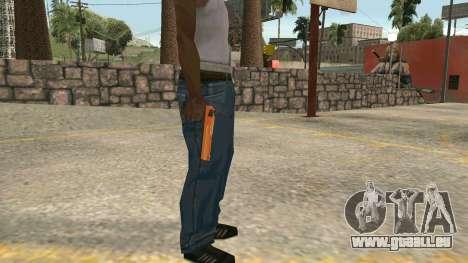 Orange Desert Eagle für GTA San Andreas zweiten Screenshot