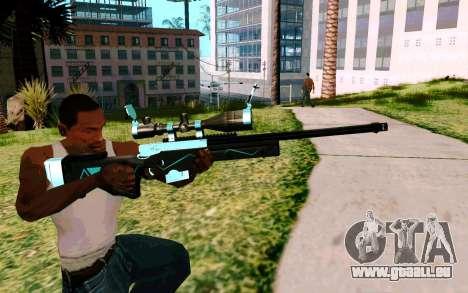 Blue Line Sniper pour GTA San Andreas