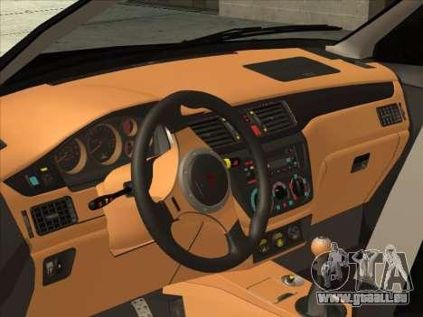 Mitsubishi Outlander pour GTA San Andreas vue arrière