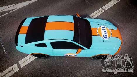 Ford Mustang Boss 302 2013 Gulf pour GTA 4 est un droit