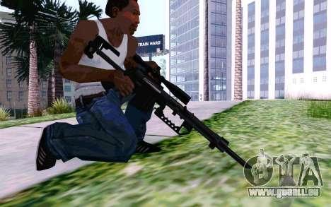 Cheytac M200 Black für GTA San Andreas fünften Screenshot