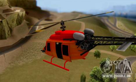 Bandit Maverick pour GTA San Andreas vue de droite