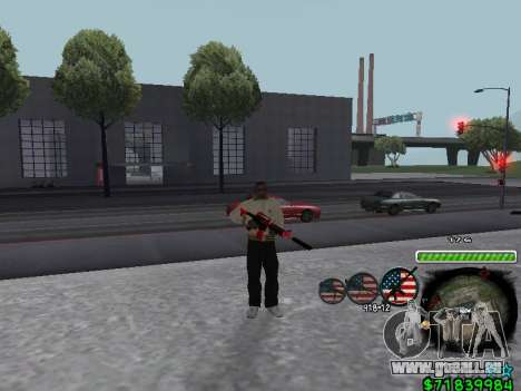 C-HUD for Ghetto pour GTA San Andreas