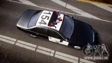 Chevrolet Caprice Highway Patrol [ELS] pour GTA 4 est un droit