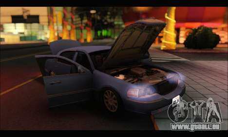Lincoln Towncar (IVF) pour GTA San Andreas