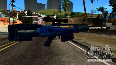 New Year Sniper Rifle für GTA San Andreas zweiten Screenshot