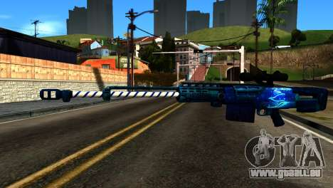 New Year Sniper Rifle für GTA San Andreas