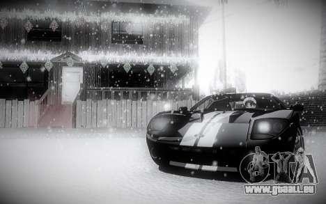 L'Hiver 2.0 ENBSeries pour GTA San Andreas troisième écran