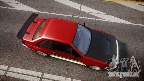 Karin Futo Drift X für GTA 4 rechte Ansicht
