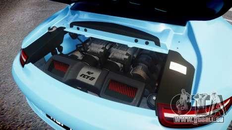 RUF RGT8 2014 pour GTA 4 est une vue de l'intérieur