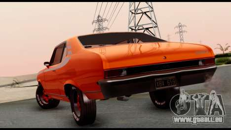 Chevrolet Series 2 1973 für GTA San Andreas linke Ansicht
