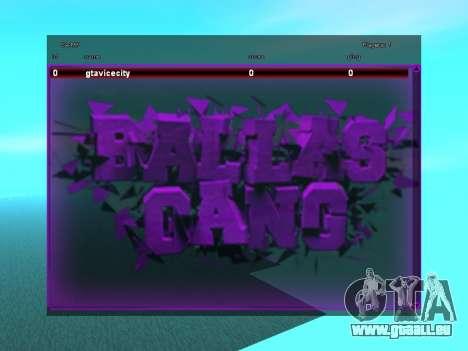 SampGUI Ballas Gang pour GTA San Andreas