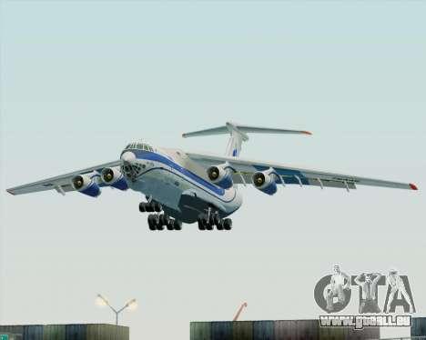 IL-76TD Gazprom Avia für GTA San Andreas Rückansicht