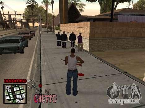 C-HUD by Jones pour GTA San Andreas troisième écran