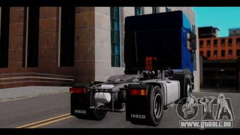 Iveco Eurotech (No Snow) für GTA San Andreas linke Ansicht