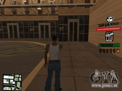 C-HUD for Ghetto für GTA San Andreas