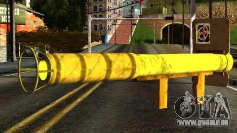 Firework Launcher from GTA 5 pour GTA San Andreas deuxième écran