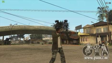 AK47 из Killing Floor für GTA San Andreas dritten Screenshot