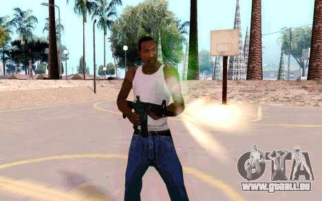M4A1 (Dodgers) pour GTA San Andreas deuxième écran