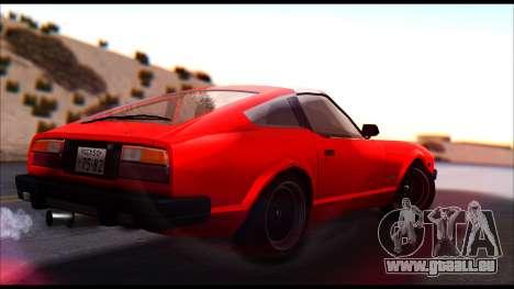 Nissan S130 pour GTA San Andreas laissé vue