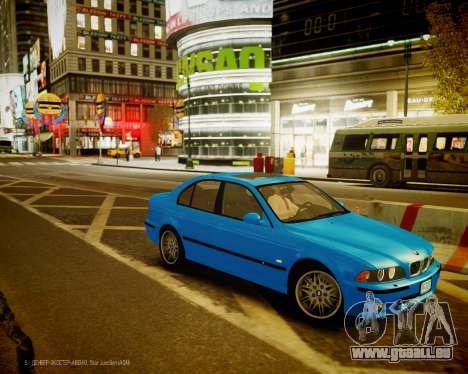 BMW M5 E39 pour GTA 4 est une gauche