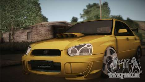 Subaru Impreza WRX STI JDM Style 2015 für GTA San Andreas