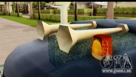 Chevrolet C.O.E. Semimula pour GTA San Andreas vue arrière