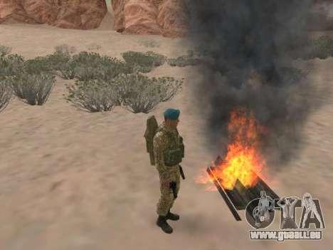 Grenadier des troupes aéroportées de la Fédérati pour GTA San Andreas huitième écran