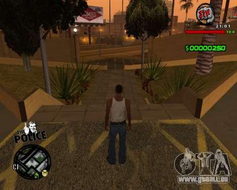 C-HUD by Jim pour GTA San Andreas troisième écran