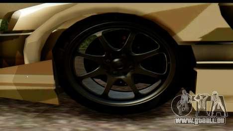 Nissan Skyline R34 Maxxis GT pour GTA San Andreas vue de droite