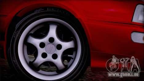Audi RS2 Coupe pour GTA San Andreas sur la vue arrière gauche