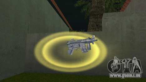 Mp5 Short für GTA Vice City zweiten Screenshot