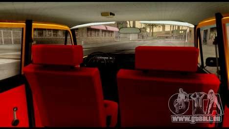 Moskvich 412-028 pour GTA San Andreas vue arrière