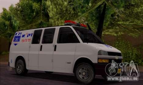 Chevrolet Exspress Ambulance für GTA San Andreas