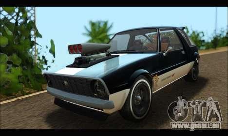 Declasse Rhapsody (GTA V) (SA Mobile) pour GTA San Andreas