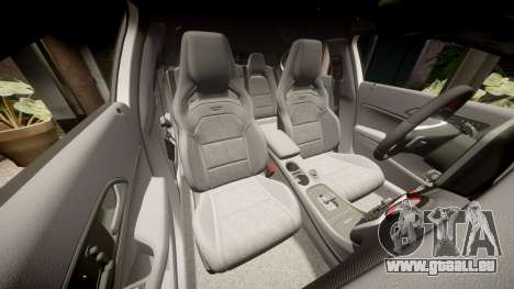 Mersedes-Benz A45 AMG PJs5 für GTA 4 obere Ansicht