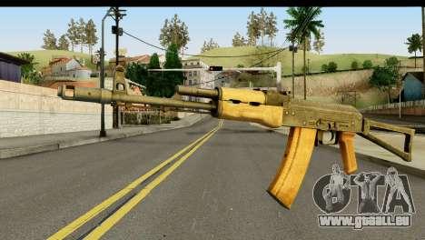 L'AKS-74 en Bois clair pour GTA San Andreas