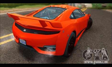 Dinka Jester Racecar (GTA V) pour GTA San Andreas vue de droite