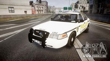 Ford Crown Victoria Police Alderney [ELS] für GTA 4