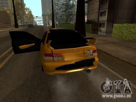 Honda Civic für GTA San Andreas obere Ansicht