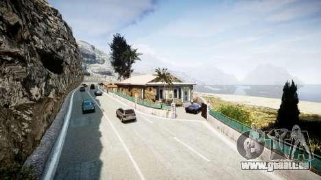 Karte der französischen Riviera v1.2 für GTA 4 fünften Screenshot