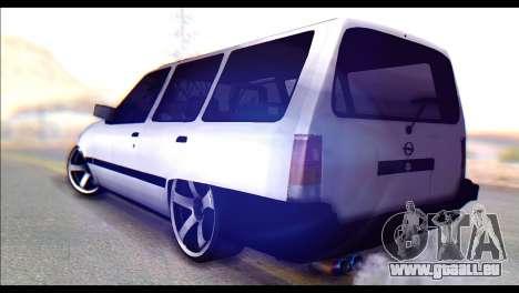 Opel Kadett GSI Caravan pour GTA San Andreas laissé vue