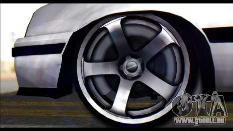 Opel Kadett GSI Caravan pour GTA San Andreas sur la vue arrière gauche