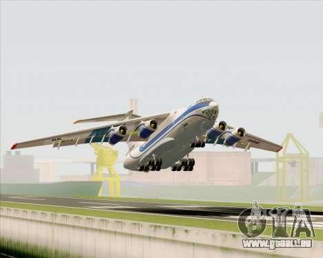 IL-76TD Gazprom Avia für GTA San Andreas Räder