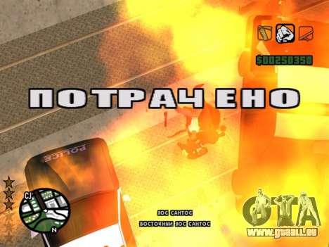 Komfortable C-HUD für GTA San Andreas dritten Screenshot