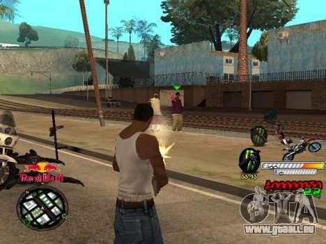С-HUD-RedBull für GTA San Andreas