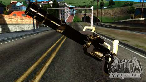 New Minigun pour GTA San Andreas
