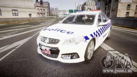 Holden VF Commodore SS Victorian Police [ELS] für GTA 4