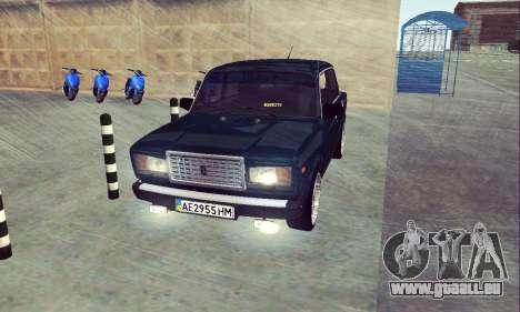 VAZ 2107 Sieben-ty für GTA San Andreas