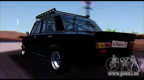 VAZ 2101 COLOMBIE-BRITANNIQUE pour GTA San Andreas laissé vue